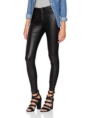 Only Women's Onlanne K Mid Waist Coated Jeans Noos Skinny Skinny Jeans,W27/L32 (Manufacturer Size: S)
