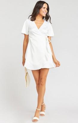 Show Me Your Mumu Barton Mini Wrap Dress