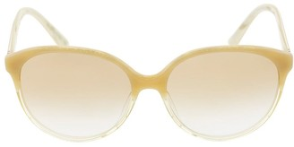 Oliver Peoples Beige and Nude Brooktree Sunglasses