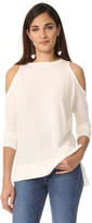 Alice + Olivia AIR Landon Cold Shoulder Tee