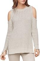 BCBGMAXAZRIA Tressa Cold-Shoulder Sweater