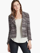 Lucky Brand Moto Sweater Jacket