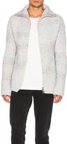 Baja East Hand Loom Cashmere Rib Sweater