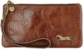 Moss Mills Shin Wristlet (Women) - Vintage brass on Chestnut Rodeo