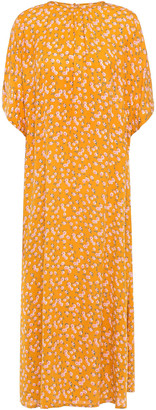 By Ti Mo Floral-print Crepe Midi Dress