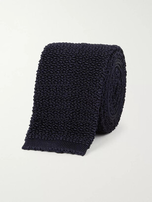 Drakes 6.5cm Knitted Silk Tie