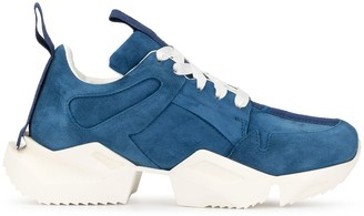 Unravel Project Cut-Out Sole Sneakers