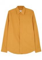 Marni Marigold Cotton Poplin Shirt
