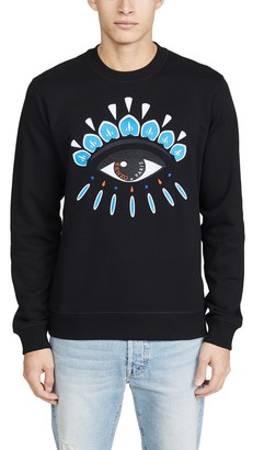 Kenzo Classic Eye Embroidered Sweatshirt