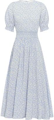 Peony Swimwear Tulip Print Midi Dress