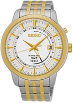 Seiko Men&s Two-Tone Kinetic Watch