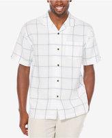 Cubavera Men's Linen Checked Shirt