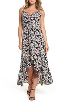 Betsey Johnson Women's Crepe Maxi Dress