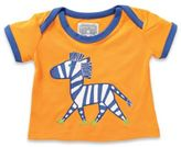 Rockin' Baby Out of Africa Size 12-18M Zebra Applique T-Shirt in Orange