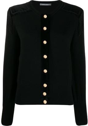 Alberta Ferretti Oversized Button Cardigan