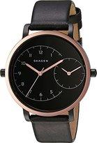 Skagen Women's SKW2475 Hagen Black Leather Watch