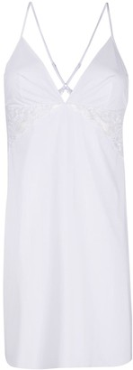 La Perla Lace Trim Night Gown