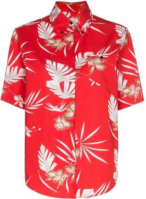 Paco Rabanne Hawaiian style floral shirt