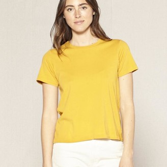 Outerknown - S E A Everyday Tee Saffron - XS