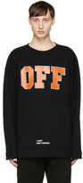 Off-White Black off Sweatshirt