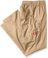 Dickies Men's Big and Tall Eds Signature Zip Fly Pull-On Scrub Pant