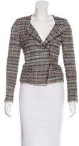 Etoile Isabel Marant Tweed V-Neck Jacket