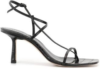 Studio Amelia Criss Cross 75mm Sandals