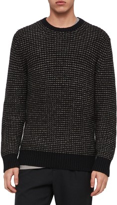 AllSaints Larkk Wool Blend Crewneck Sweater