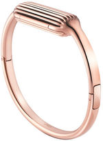 Fitbit Luxe 22K Rose Goldplated Stainless Steel Large Accessory Bangle