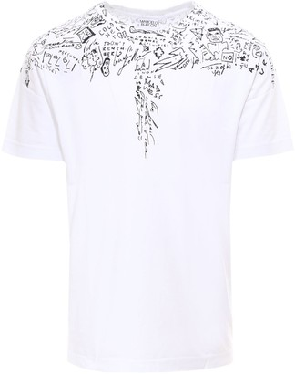 Marcelo Burlon County of Milan Sketches Wings T-Shirt