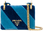 Prada Candy striped shoulder bag