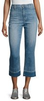 Joe's Jeans The Jane High-Rise Straight Cropped Jeans with Released Hem, Yenz