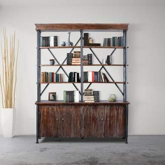 LIBRARY 17 Stories Corinne Industrial Bookcase 17 Stories
