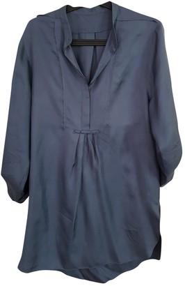 Cacharel Blue Silk Dress for Women