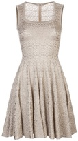 Alaia 'Lys' robe dress