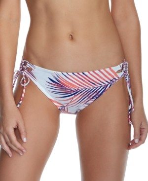 Raisins Juniors' Back to Bali Side-Tie Bikini Bottoms, Created for Macy's Women's Swimsuit