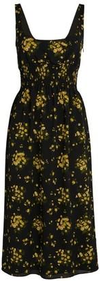 Emilia Wickstead Giovanna Floral Print Dress