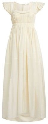 Chloé Ruched A-Line Dress
