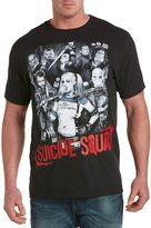 True Nation Suicide Squad Poster Big & Tall Short Sleeve Graphic T-Shirt (7XL, )