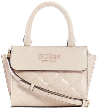 GUESS Sg766676Nud Queenie Top Handle Satchel