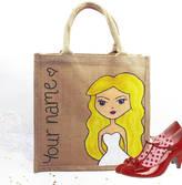 Hurley Sarah Personalised Bridesmaid Dollybelles Tote Bag