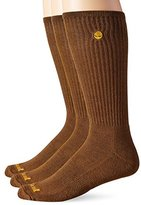 Timberland Men's 3 Pack Cotton Crew Sock