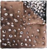 Elie Saab pearl print scarf