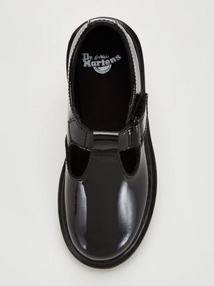 Dr. Martens Girls Ailis T-bar School Shoes - Black