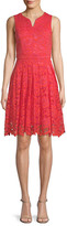 Thumbnail for your product : Donna Ricco Lace A-Line Dress