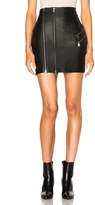 Pierre Balmain Leather Mini Skirt