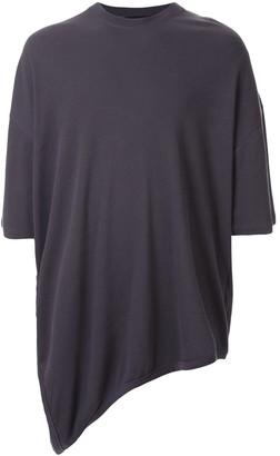 Julius asymmetric short-sleeve T-shirt