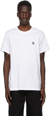 Burberry White TB Monogram New Parker T-Shirt
