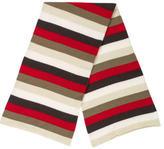 Malo Striped Cashmere Scarf