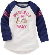 "Osh Kosh Girls 4-8 Perfect In Every Way"" Graphic Tee"